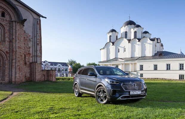 Обновленный Hyundai Grand Santa Fe: первый российский тест-драйв