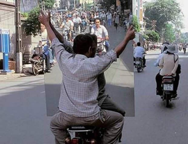 17 безумных фото мотоциклистов