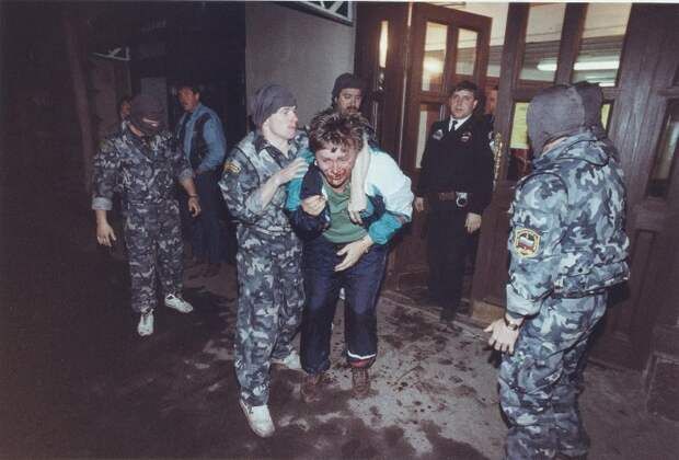 Облава на проституток 90-ые