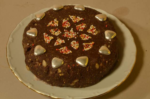 Тортик из кулича