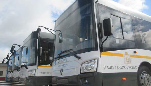 Перевозчики Подмосковья должны обеспечивать безопасность движения автобусов