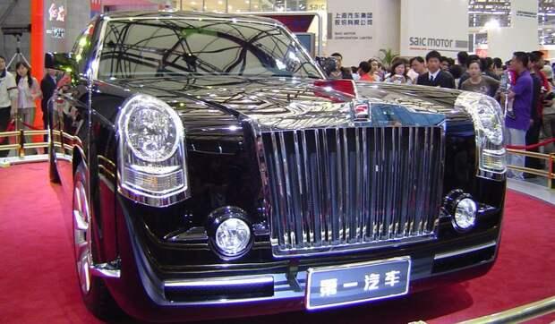 3. Hongqi Limousine лимузин, правительственный автомобиль