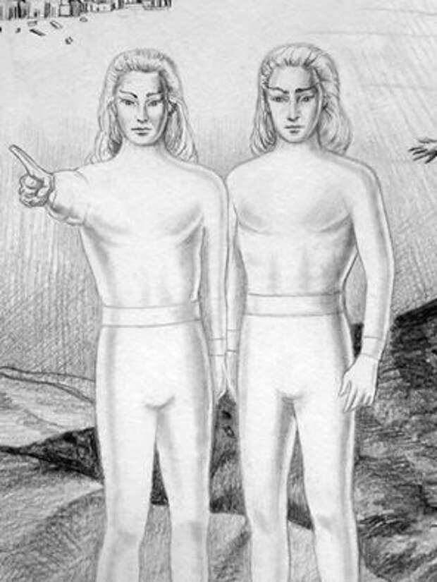 Внеземная человеческая цивилизация. Люди пришельцы?