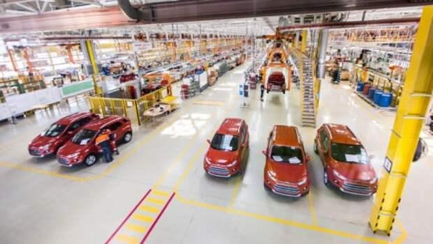 Выпуск автомобилей в России с начала года уменьшился на 20,5%