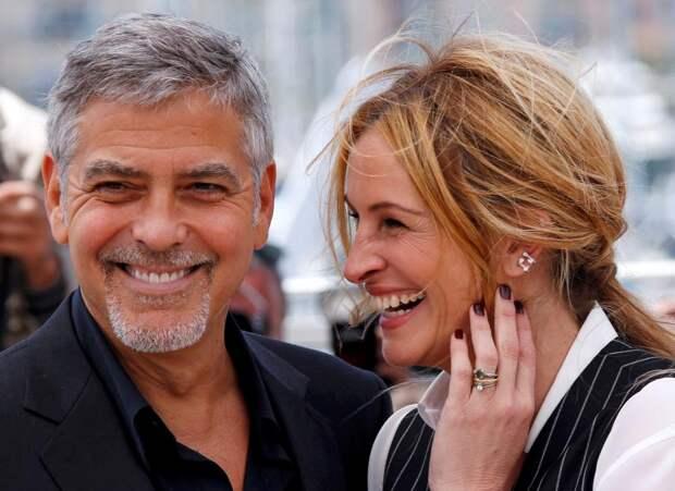 Джордж Клуни и Джулия Робертс.
