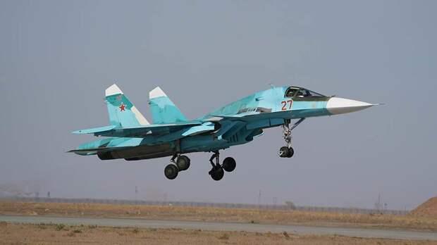 Бомбардировочный полк на Су-34 перебазируют в Воронеж до конца года