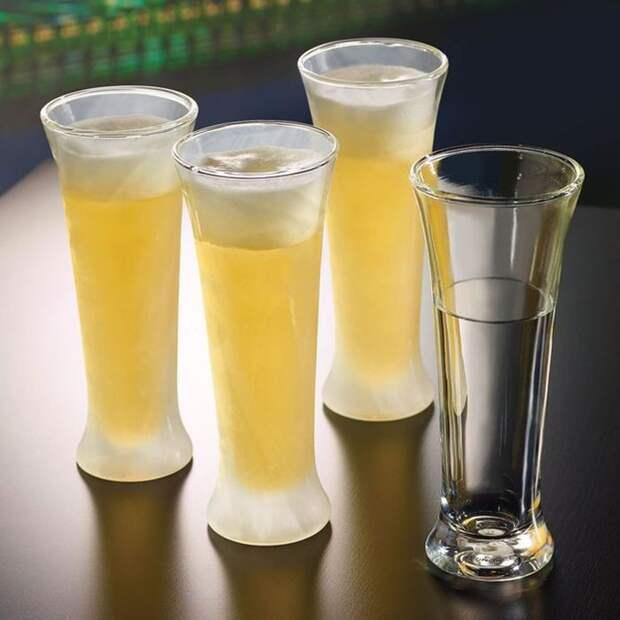8. Стаканы для пива, которые держат холод в течение 30 мин. вещи, лето