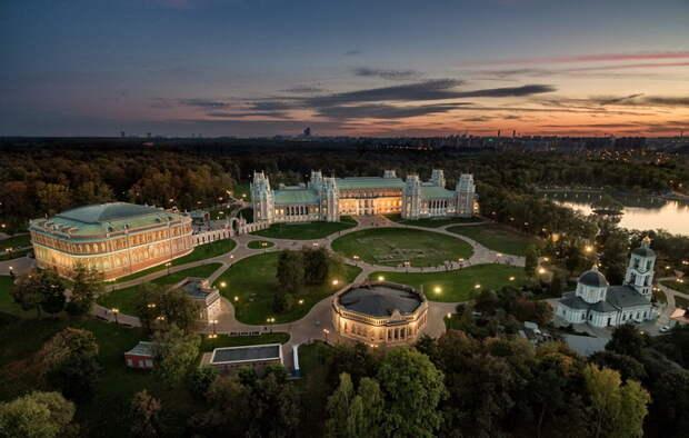 Масштабные и зрелищные пейзажи от московского фотографа