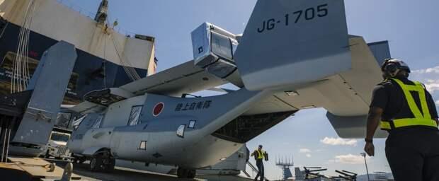 Конвертопланы: Япония первая после США
