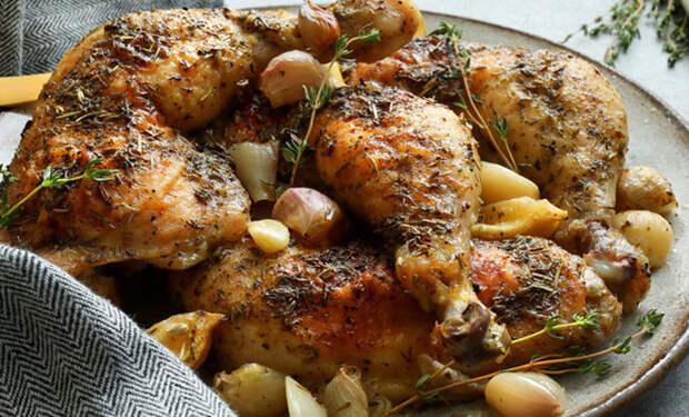 Курица в новых вкусах: жарим как в Италии