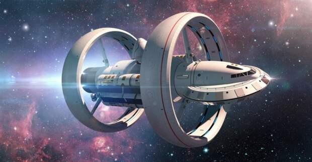 Как в теории выглядит рабочая модель варп-двигателя