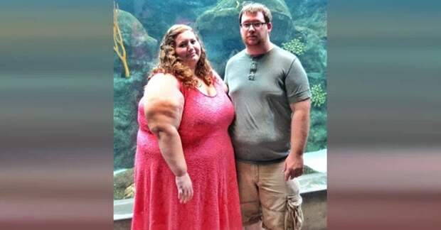 Молодая семейная пара решила похудеть, и вместе они скинули 140 кг