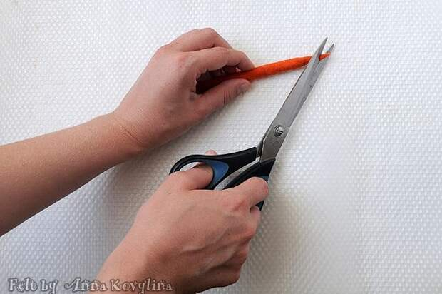 Мастер-класс по валянию в технике ламинирование Ежедневник и ручка