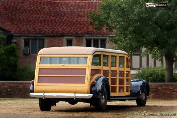 Супервудиваген LaSalle, деревянный автомобиль, необычный автомобиль
