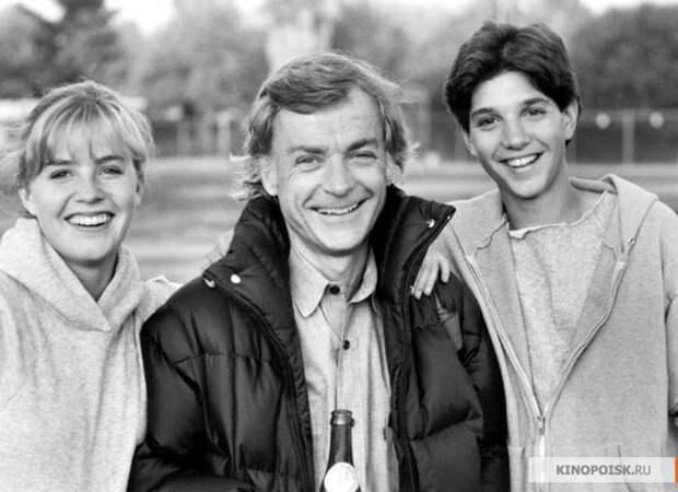 """Фотографии со съемок фильма """"Парень-каратист"""". 1984 год."""