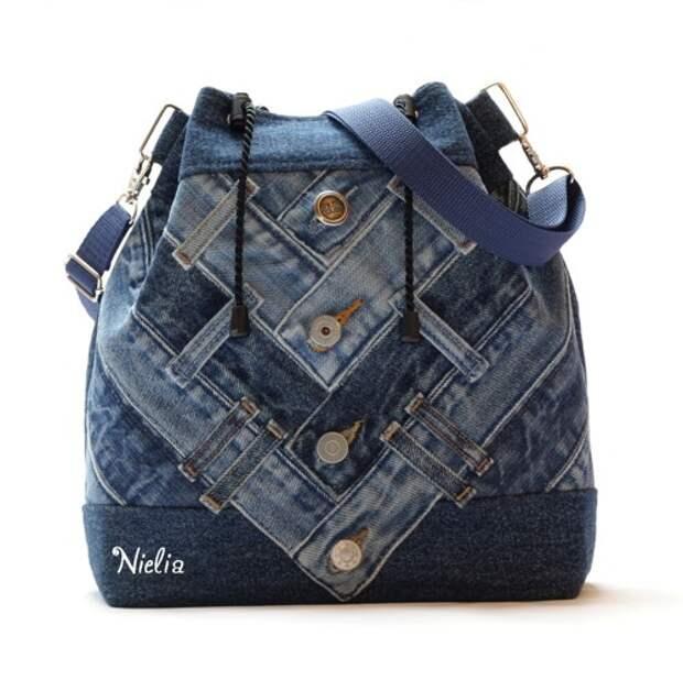 Nielia - сумки из джинсов (часть3)