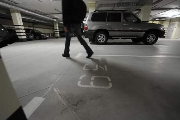 Автовладельцам разрешат оформить машиноместо в собственность