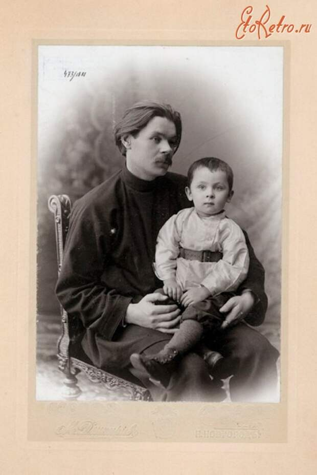 Максим Горький в фотографиях М.П Дмитриева.