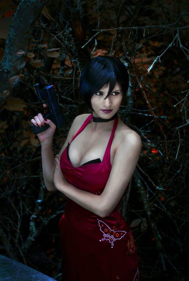 Косплей. Изящная Ада Вонг из Resident Evil 4