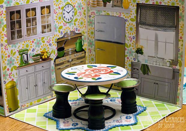 Кукольные домики и мебель своими руками