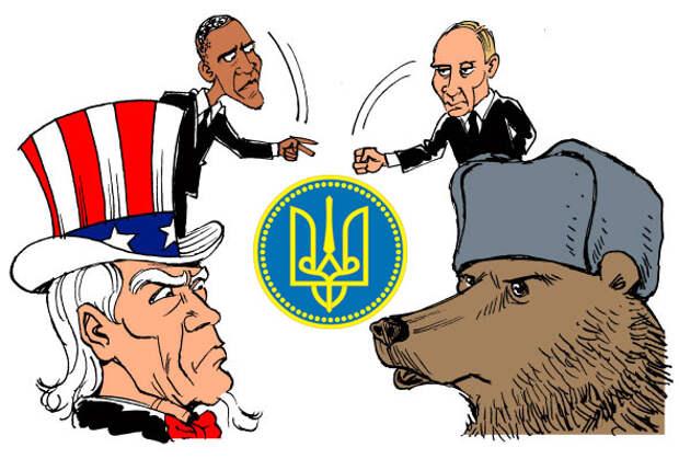 Россия США Украина