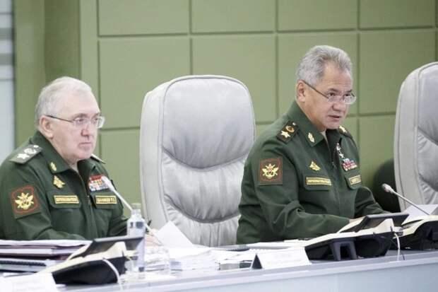 Шойгу завершил спонтанную проверку боеготовности армии в Крыму