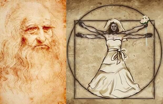 Идеальная свадьба от Леонардо да Винчи: Как великий изобретатель планировал великие торжества