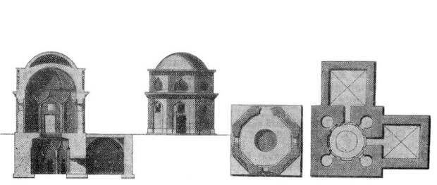 Башенный мавзолей в селе Маслов Кут по П.С.Палласу