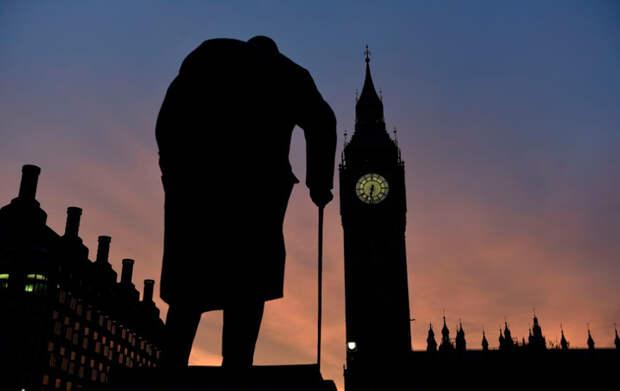 Статуя сэра Уинстона Черчилля