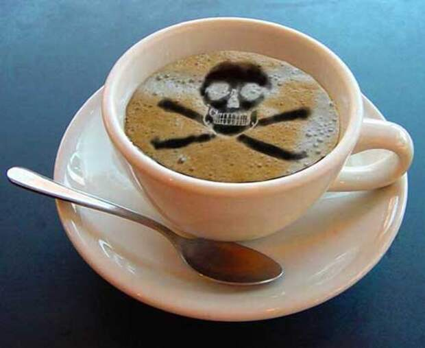 Как вредит кофе печени
