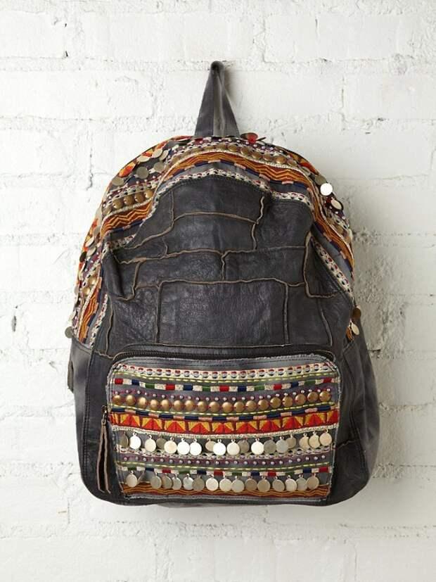 Необычные рюкзаки + выкройки