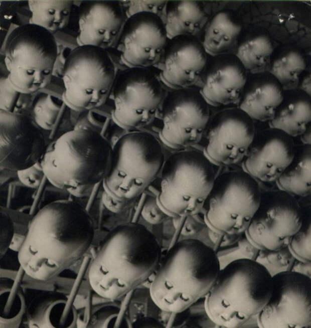 Кукольные головы.