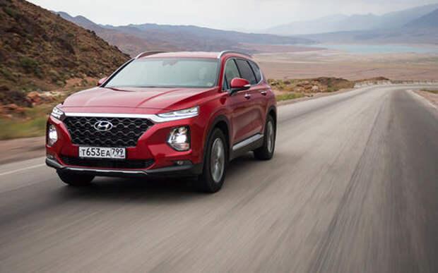 Новый Hyundai Santa Fe: первый тест