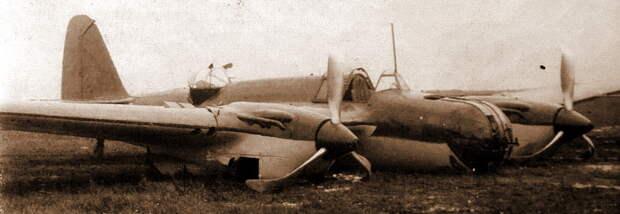 Вероятно, так 26 июня 1941 года выглядели бомбардировщики 99-го СБАП. На фото авария СБ 2М-103 с заводским №18/315, произошедшая 12 октября 1940 года - «Бить танки противника до полного их уничтожения…» | Warspot.ru
