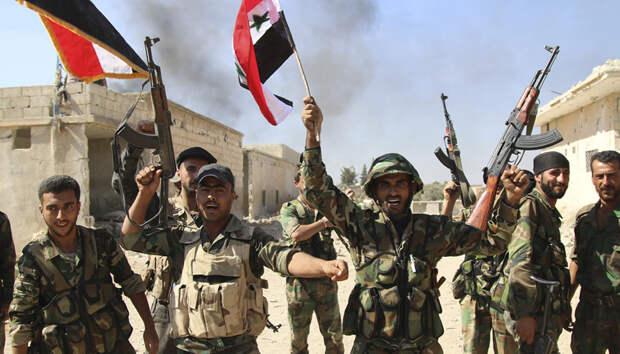 Антитеррористическая операция сирийской армии в провинции Хама