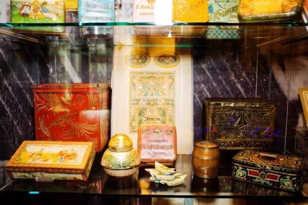 Экспозиция организована при поддержке Музея истории русского шоколада / Фото: официальный сайт музея http://www.chokomuseum.ru