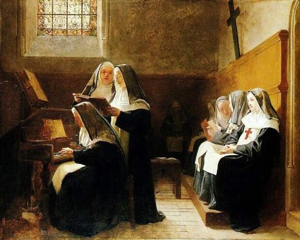 История монахини, которая сбежала из обители в XIV веке