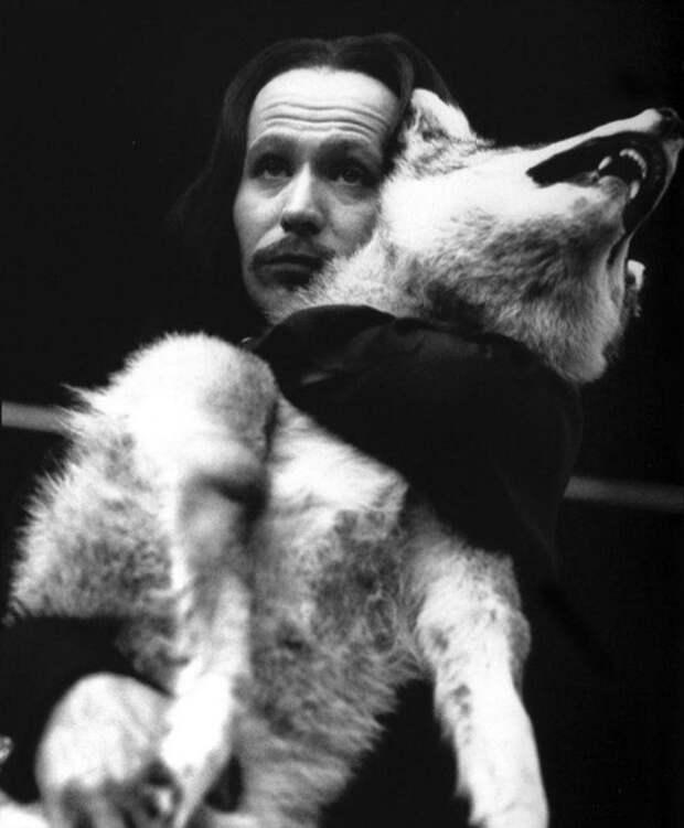 "Гарри Олдман на съёмках фильма ""Дракула"", 1992 год."