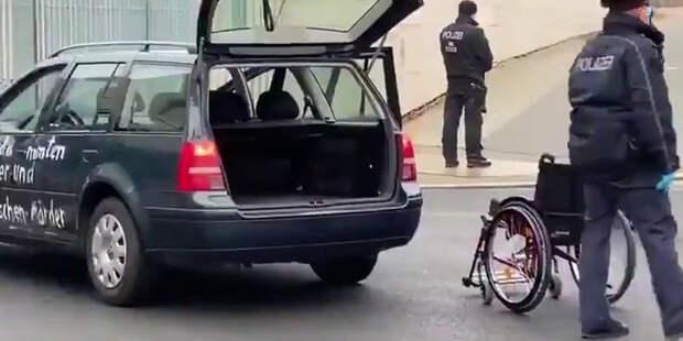 Что случилось с воротами Меркель?