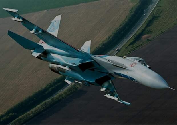 Минобороны России предположило крушение Су-27 возле Крыма