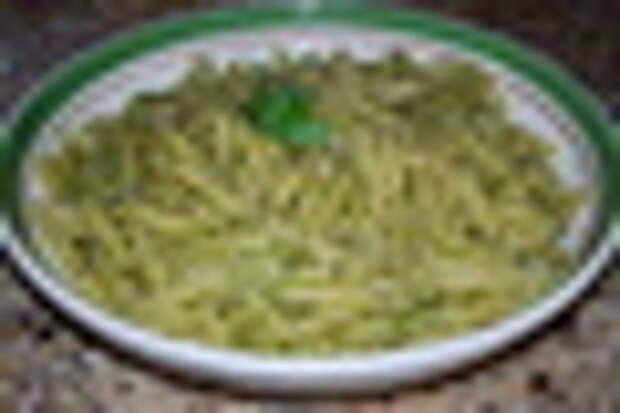 pasta with basil pesto (2)