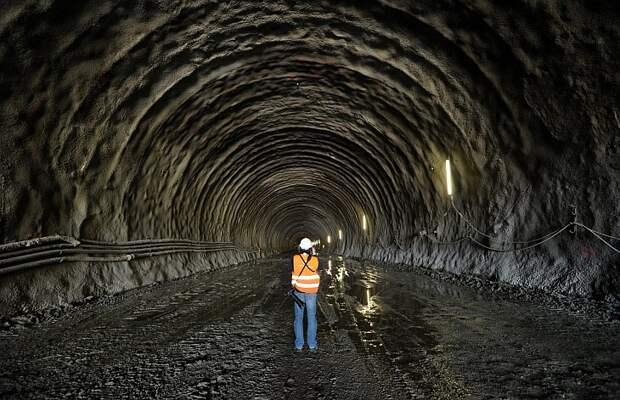 Подземный железнодорожный тоннель Голдберг