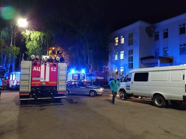 Два пациента погибли при пожаре в больнице Татарстана