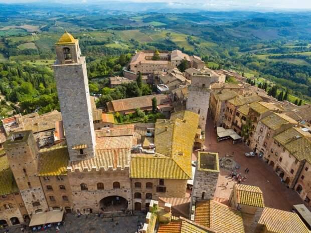 Прелесть горных городков Италии