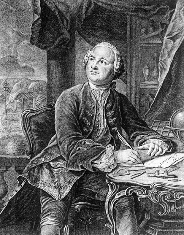 М. В. Ломоносов. Прижизненное изображение, 1757 год.jpg