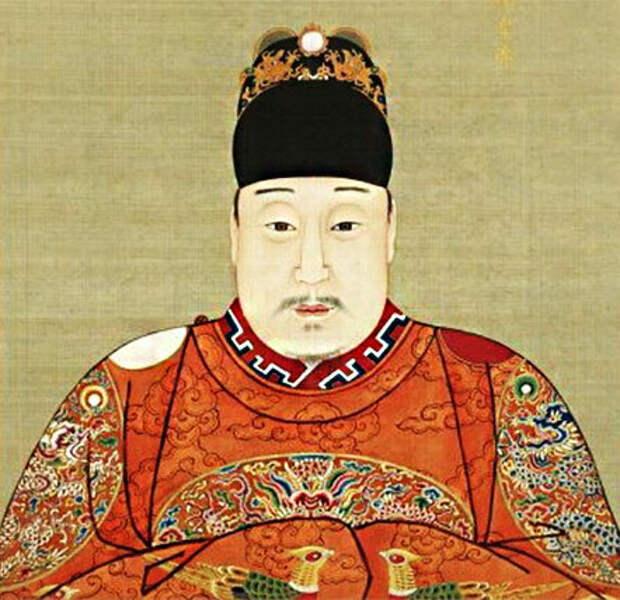 Неизвестный художник. Император Ваньли