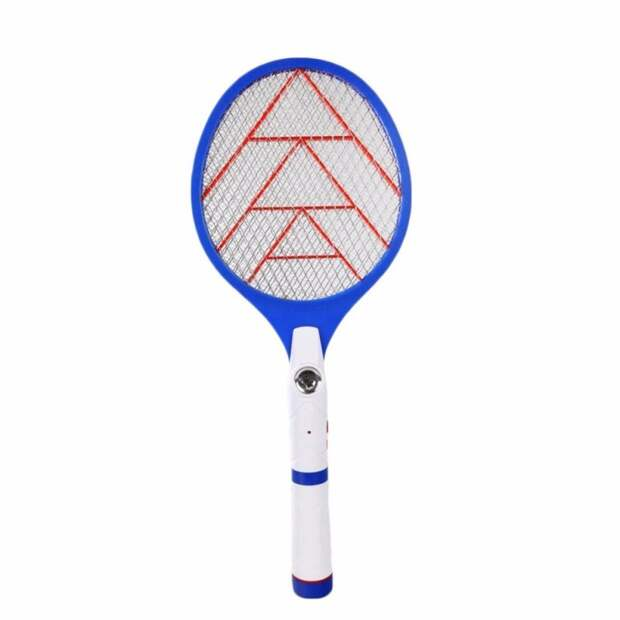 Ракетка с сеткой от комаров Полезные, дефицит, журнал, игрушки, наука и жизнь, ракетка, стержень