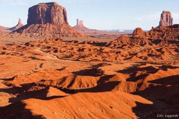 Долина Монументов, штат Колорадо природа, пустыня