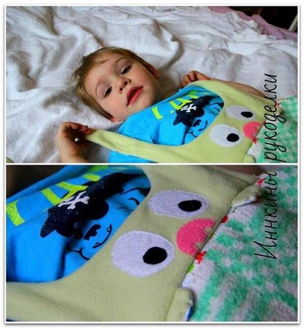 Переделка байкового одеяла или как сэкономить 1500 руб