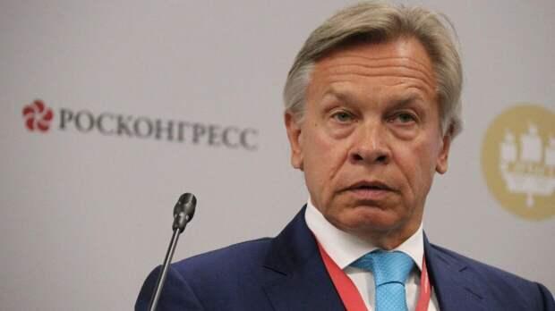 Пушков исключил отмену американских санкций в условиях пандемии